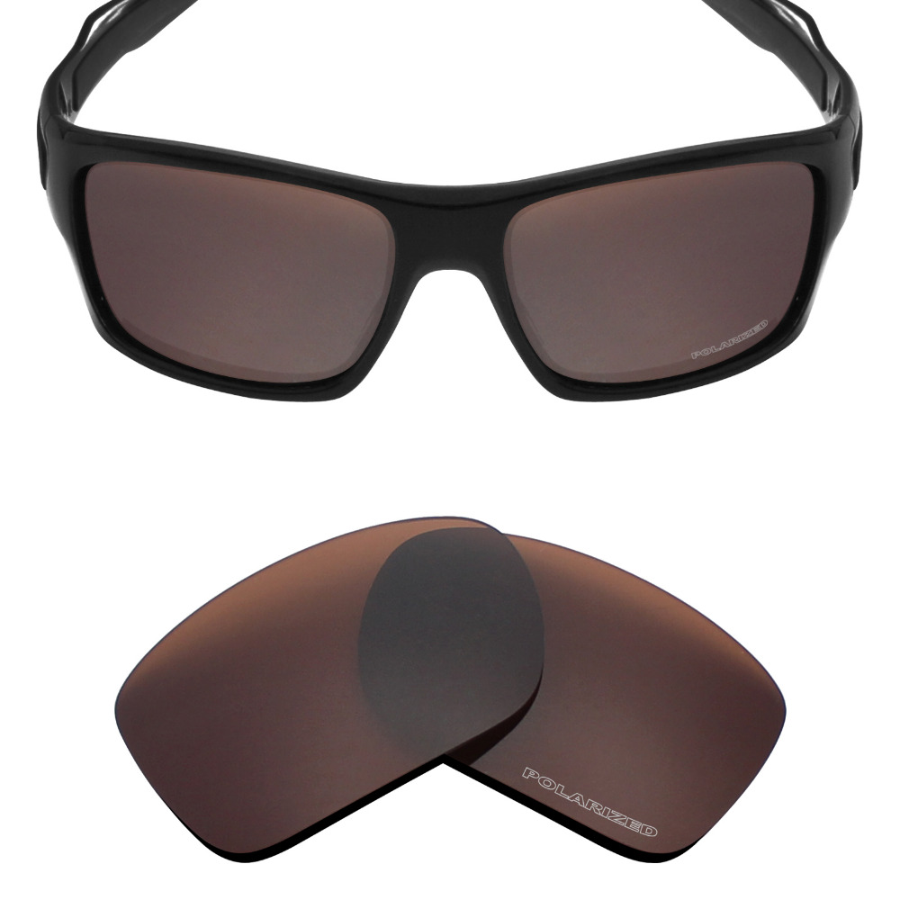 4742f2d686fdb Mryok+ POLARIZED Resist SeaWater Replacement Lenses for Oakley Turbine Sunglasses  Bronze Brown-in Accessories from Apparel Accessories on Aliexpress.com ...