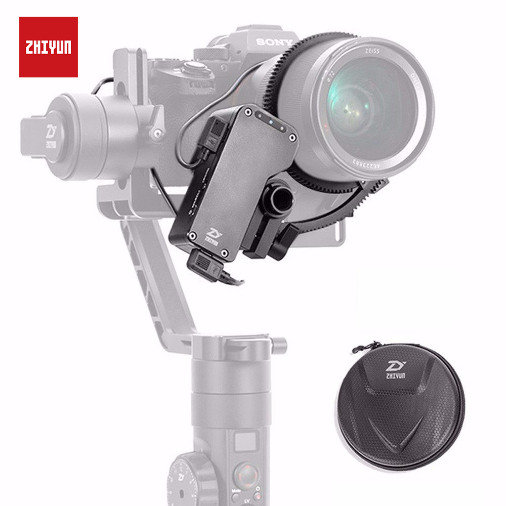 ZHIYUN Official Crane 2 Servo Follow Focus Accessories Kit for Canon/Nikon/Sony/Panasonic DSLR Camera Handeld Gimbal Stabilizer -in Gimbal Accessories from Consumer Electronics
