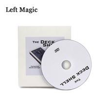 Deck Shell By Chazpro Magic & Collectibles  Magic Tricks Playing Card Box Metal Magic Props Stage Close-Up Accessory Illusion aiden by ryuhei nakamura magic tricks