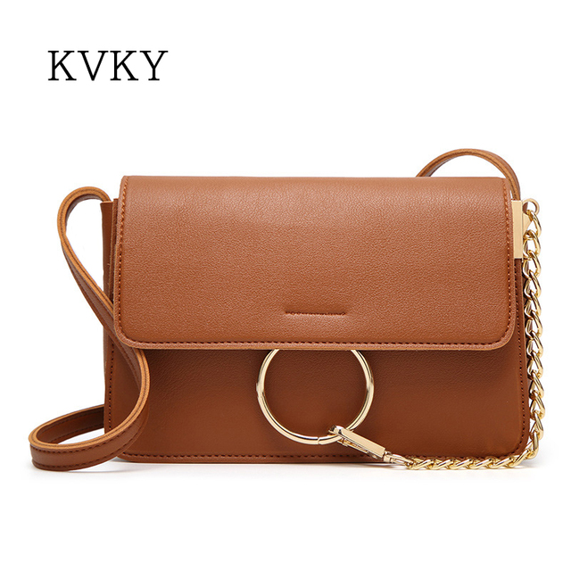 Fashion Women Leather Handbag Women Messenger Bags Crossbody Bags High  Quality Luxury Famous Designer Brand Ladies Bags 5 Color 2c579e8812baa