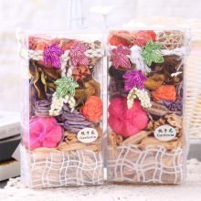 Quality natural dry flower Sachet, moth fragrance wardrobe sachet,Odor removal & insect prevention, good for sleeping 2 pack