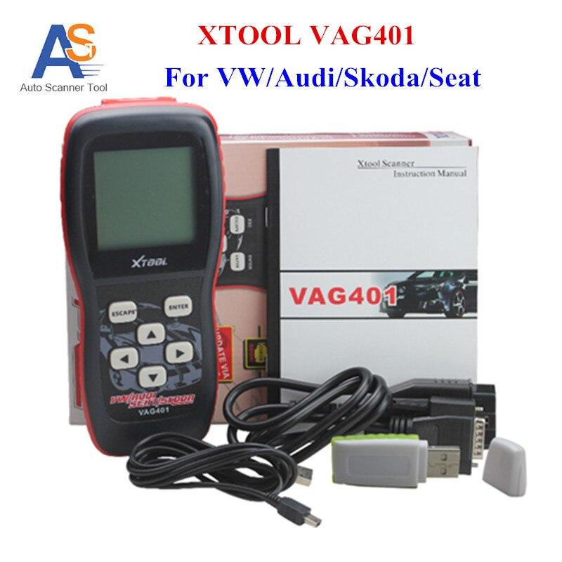 Цена за 100% первоначально xtool vag401 obd2 диагностический сканер обновление онлайн abs SRS Неисправности Двигателя Код Рид VAG 401 OBDII/OBD2 сканер
