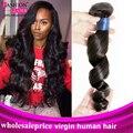 Brazilian Loose Wave Virgin Hair Cheap Brazilian 3 Bundles Body Wave Hair Human Hair Burst Sells Brazilian Virgin Hair Body Wave