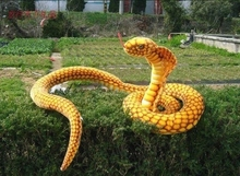 new creative plush Gold python toy simulaiton cobra doll gift about 250cm