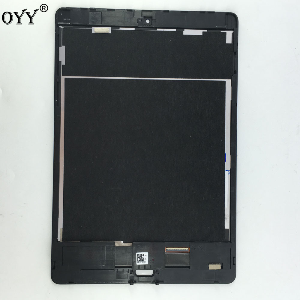 LCD Display Matrix Touch Screen Digitizer Sensor Tablet PC Parts Assembly with frame For ASUS ZenPad 3S 10 LTE Z500KL for lenovo miix 2 8 tablet pc lcd display touch screen digitizer replacement with frame