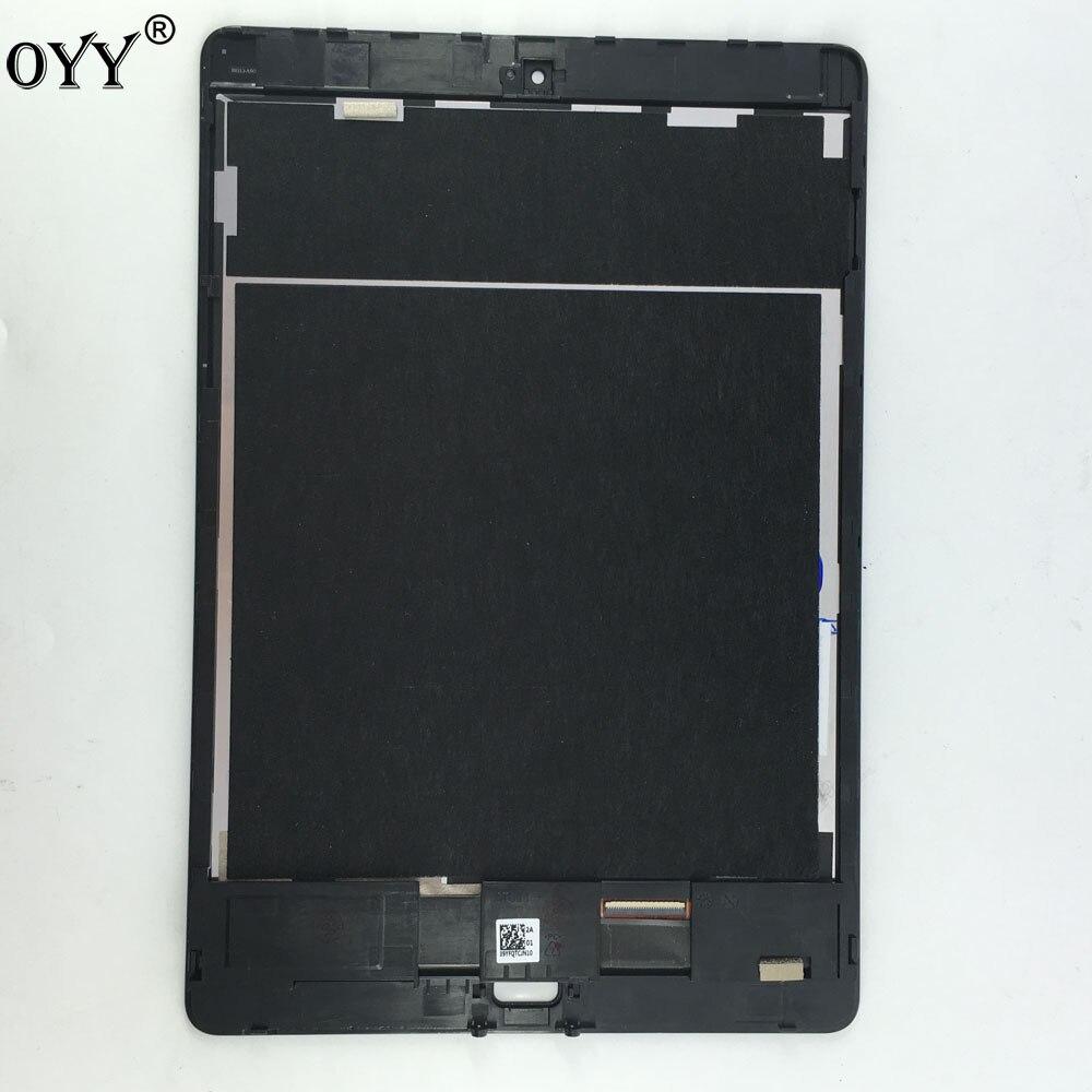Pantalla LCD matriz pantalla táctil digitalizador Sensor Tablet PC piezas montaje con marco para ASUS ZenPad 3 S 10 LTE z500KL