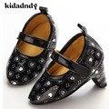 Bebê Sapatos de Salto Alto 0-1-Ano-Velho Sapatos de Bebê Do Sexo Feminino Amo Moda Essencial YMC016