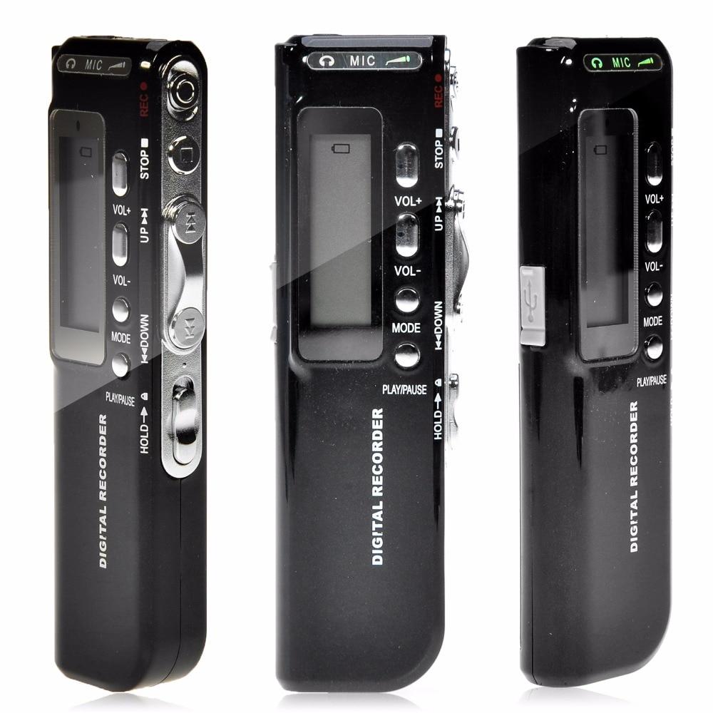 Kebidumei 8 ГБ USB Pen Цифровые диктофоны голосовой активации Цифровой Аудио Голос Регистраторы Mp3 диктофон игрока gravador де Вос