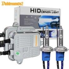 Buildreamen2 высокое яркий ксеноновый комплект переменного тока балласта+ лампы 55 Вт 10000LM H1 H3 H7 H8 H9 H11 9005 9006 12V автомобильный светильник головной светильник светодиодный светильник тумана