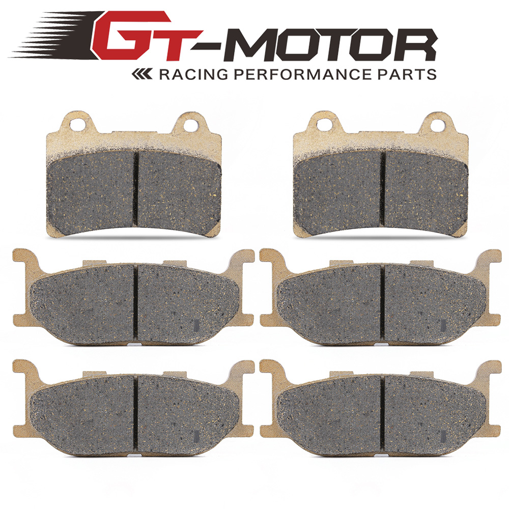 Motorcycle Front and Rear Brake Pads For YAMAHA XVZ1300 XVZ 1300 Royal Star Venture S 2008-2013 / Venture 1999-2001 motorcycle front and rear brake pads for yamaha xvz 1300 xvz1300 royal star tour deluxe 2005 2007 brake disc pad