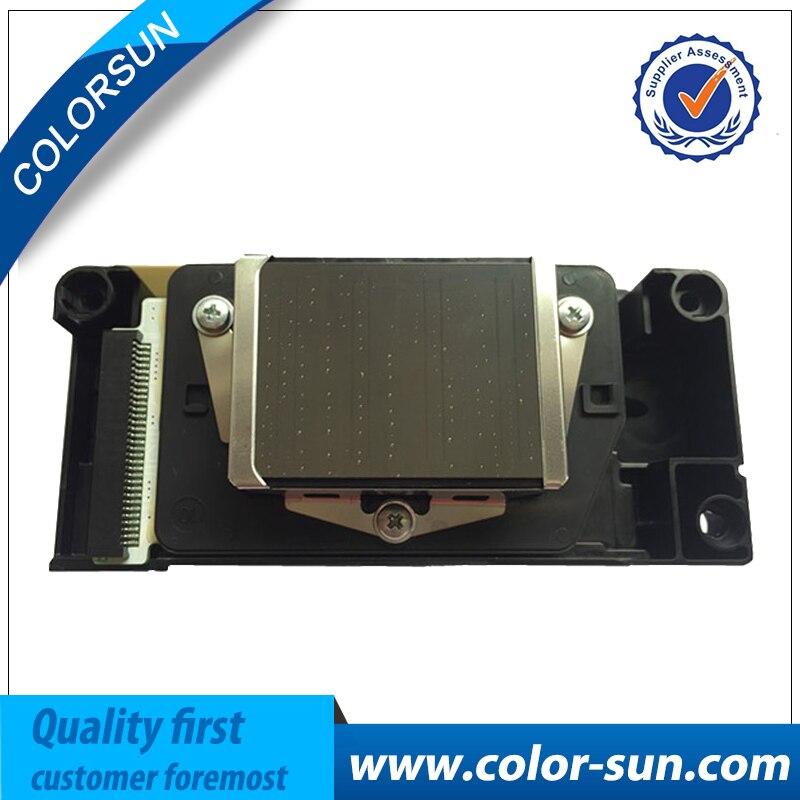 Original F158000 printhead DX5 printhead with No Encryption Water Based print head for Epson R1800 R2400 printhead