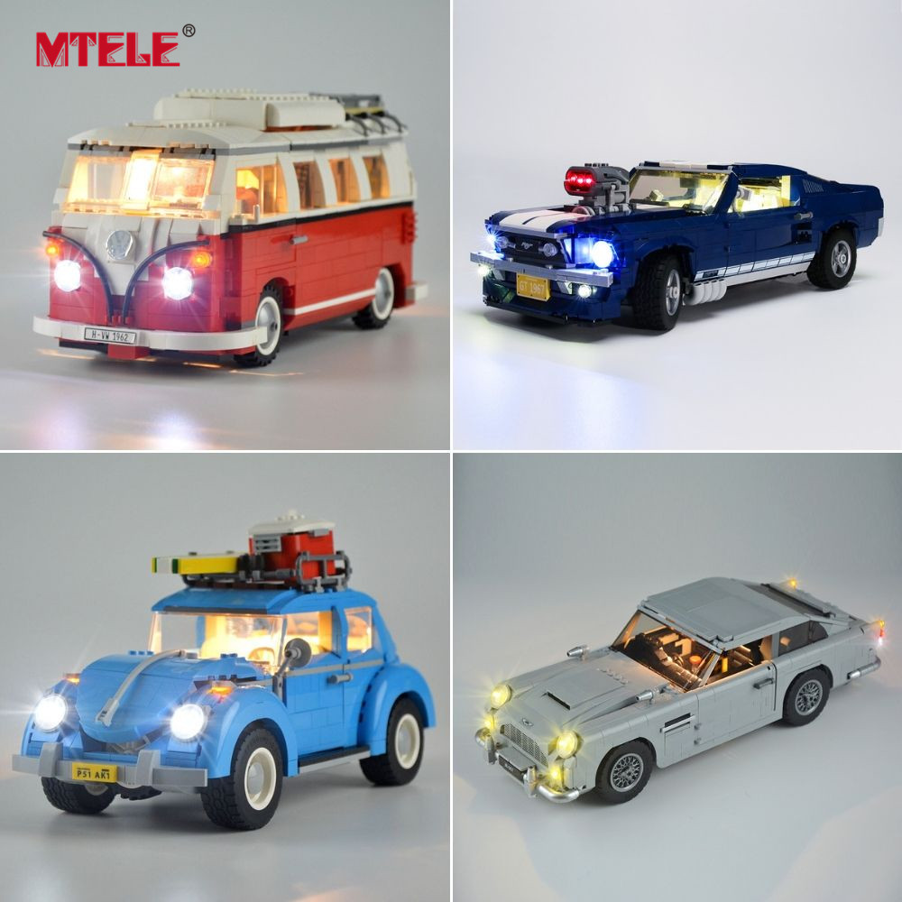 MTELE Light Kit For Technic/CarLight Set Compatible With Legos 42083/10220/21108/42056/10242/10269/42096/42093/10248/10258/10265