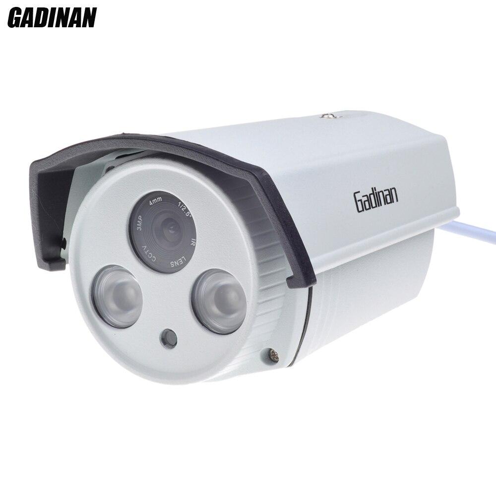 GADINAN CMOS SONY IMX322 Capteur HI3516C DSP Auto Zoom 1080 P IP Caméra 4X Objectif Motorisé 2.8-12mm ONVIF de Sécurité 48 V PoE en option