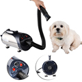 EU/US/UK Plug Dog Cat Pet Force Dryer With Heater Quiet Hair Dryer With Nozzle Grooming Pet Dryer Villus Moisture Debris Cleaner