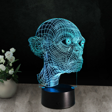 Night Light 3D Lamp Gadget