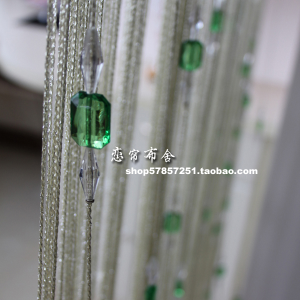 Aliexpress com   Buy Upscale bright thread beads crystal bead curtain  thread door curtain off the entrance curtain home decoration 1 2 8m from  Reliable. Aliexpress com   Buy Upscale bright thread beads crystal bead