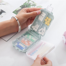 4 Colors Portable Mini Pill Case Medicine Boxes 3 Grids Travel Home Medical Drugs Tablet Empty Container Holder Cases