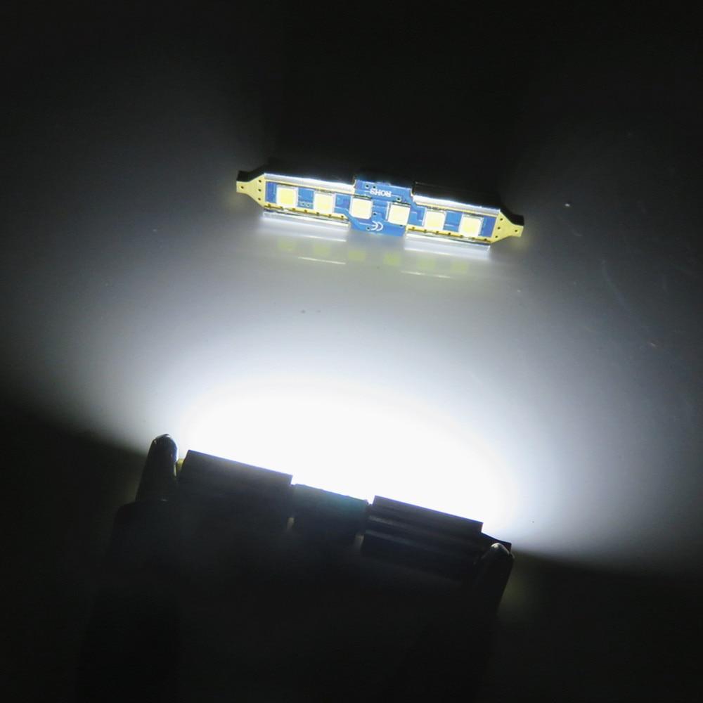 WLJH 2x Canbus auto svjetiljke 31mm 36mm 39mm 41mm 2835SMD DE3175 C5W - Svjetla automobila - Foto 4