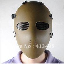 Полная защита лица охота маска Airsoft очки маски песок