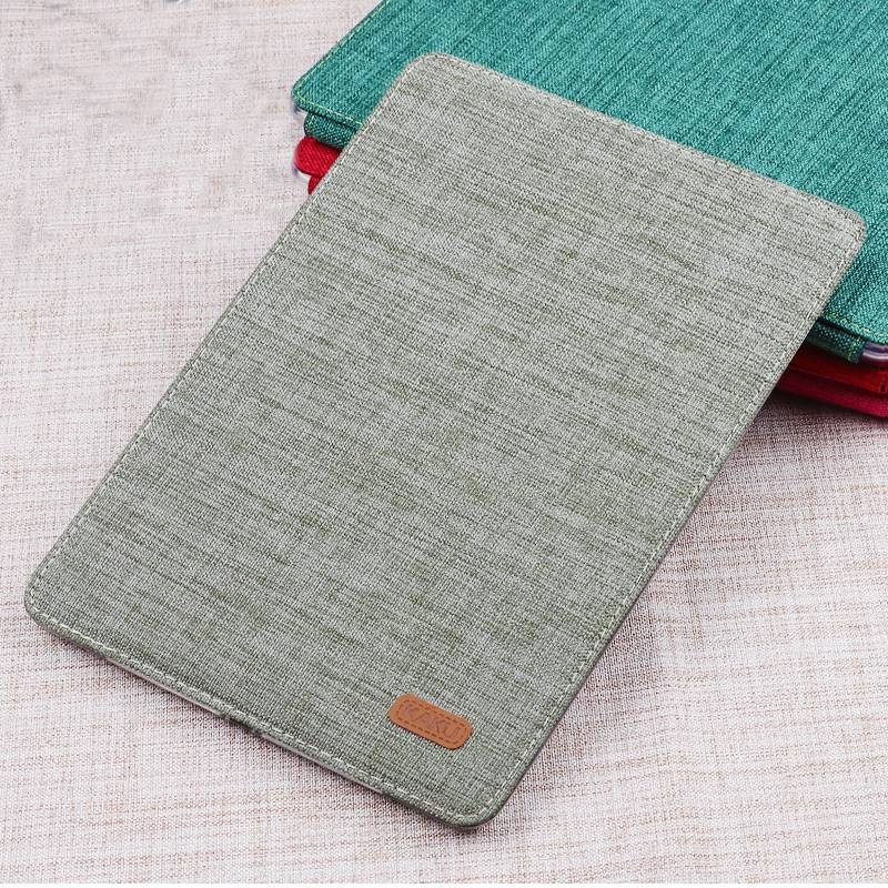 For IPad Mini 4 Case Luxury Leather Ultra Slim Magnetic Smart Flip Stand Linen Cloth Cover Case for Apple IPad Mini 1 2 3 Retina image