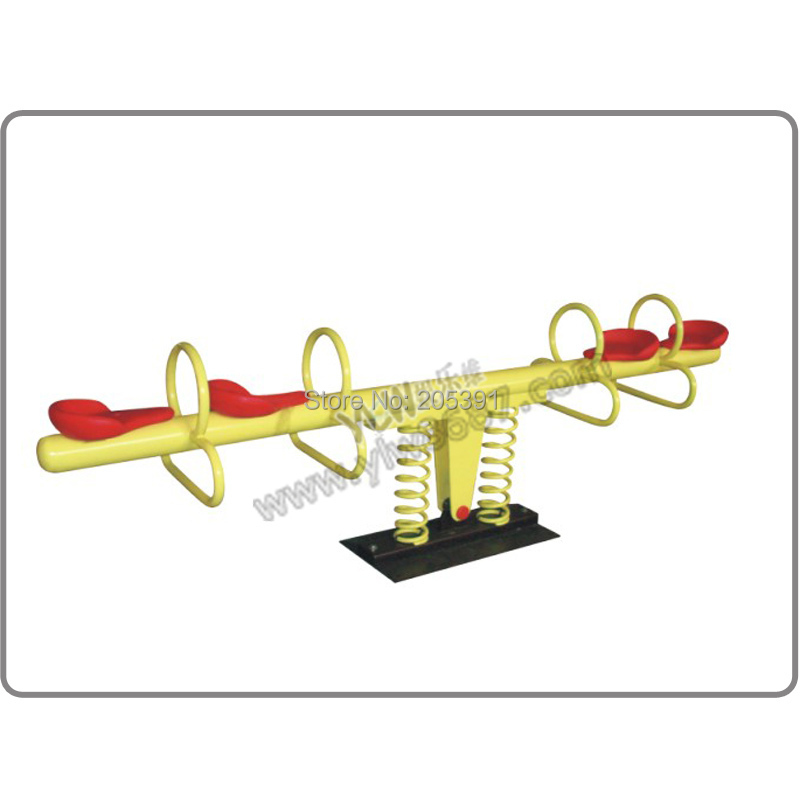 double seesaw playground park,garden seesaw for amusement park,park seesaw dfc seesaw se 01