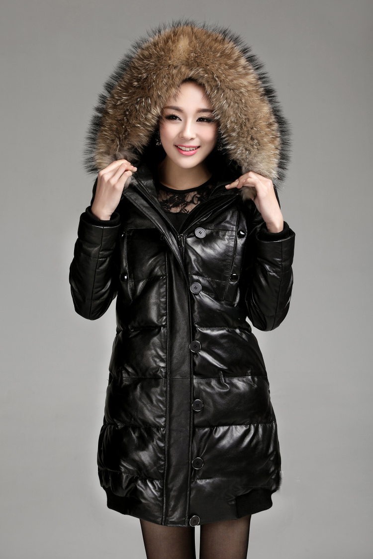 Collection Down Coat With Real Fur Hood Pictures - Reikian