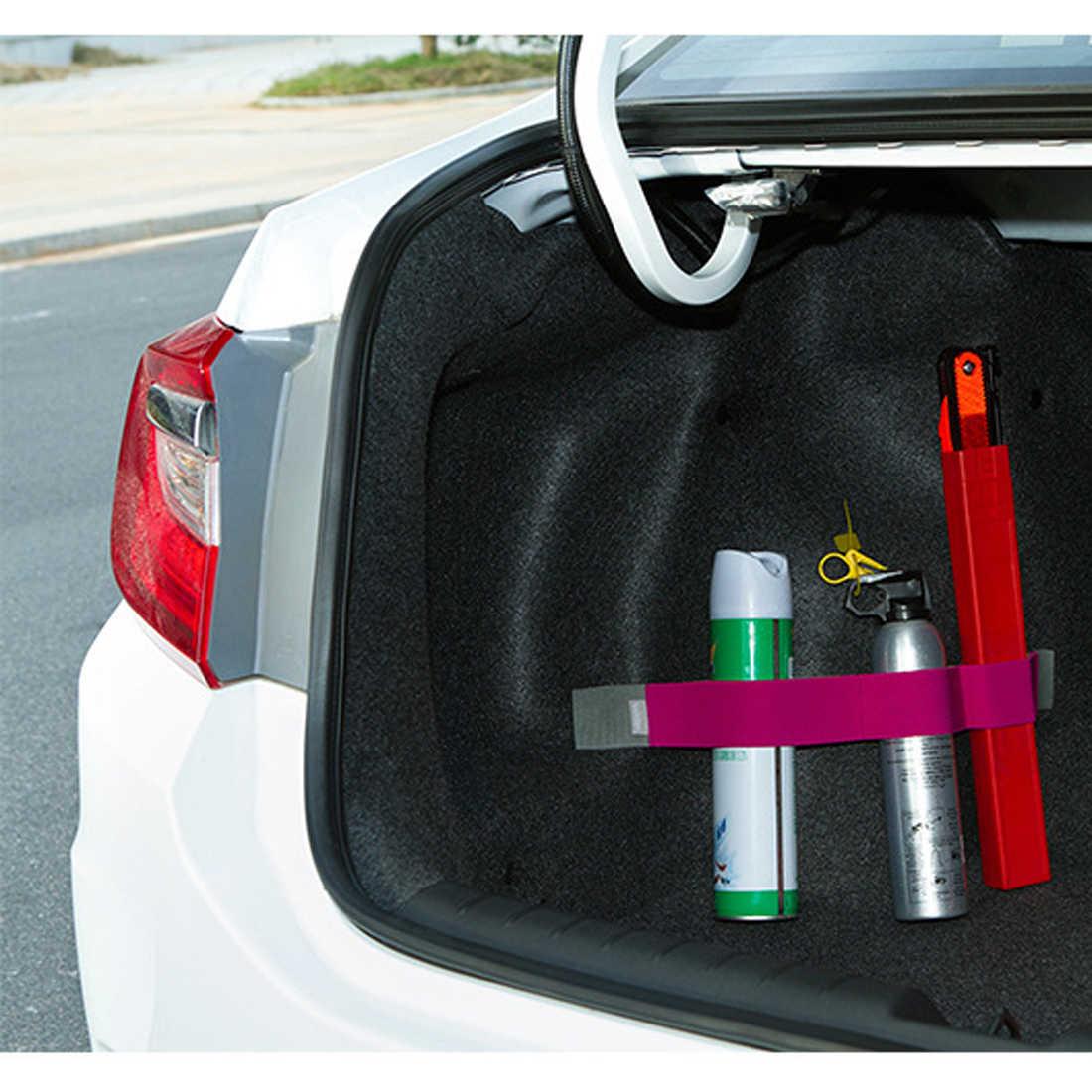 Promoção Organizador Mala Do Carro Carro-styling Cor Cinta Elástica Fixo Diversos Estiva Tidying Acessórios Interiores Auto Dewtreetali