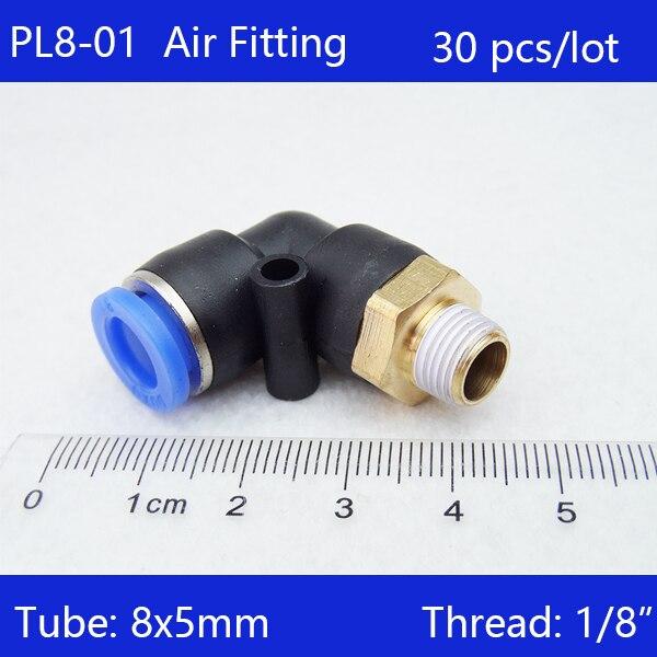 30 Pièces De Pl8 01 Livraison Gratuite 8mm Push In One
