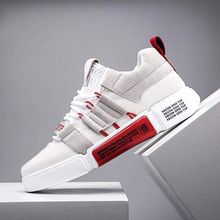 цены на Men Sport Shoes 2019 Comfortable Men Running Shoes Men Outdoor Non-Slip Wear Sneakers Men Mixed Color Breathable Running Shoes  в интернет-магазинах