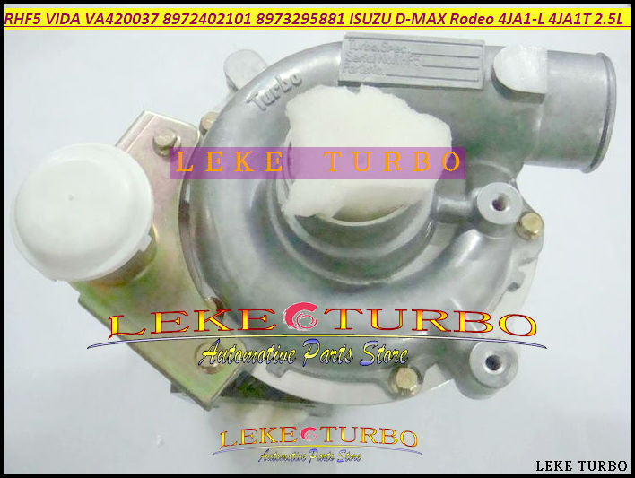 RHF5 VIDA 8972402101 8971856452 8973295881 VA420037 VB420037 Turbo For ISUZU D-MAX Rodeo Pickup 04- 4JA1-L 4JA1L 4JA1 2.5L 136HP free ship turbo cartridge chra for isuzu d max rodeo pickup 2004 4ja1 4ja1 l 4ja1l 2 5l rhf5 rhf4h vida 8972402101 turbocharger