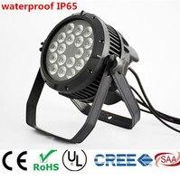 18X12 Вт 18x18 Вт IP65 водонепроницаемый светодио дный Par фары, RGBWA УФ 6in1 светодио дный PAR DMX512 управления профессиональной сцене джеев огни дискотек