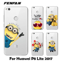Minions Soft TPU Cover for Huawei P8
