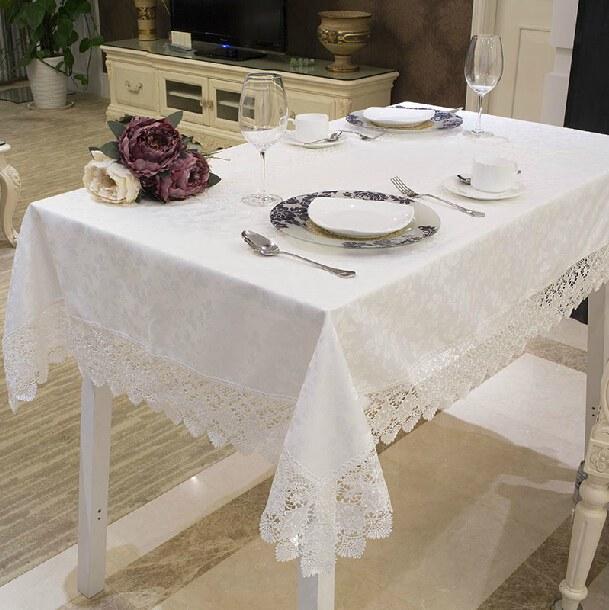 vezon New Hot Luxury Poliester Europa Żakardowe Koronki Obrusy - Tekstylia do domu - Zdjęcie 2