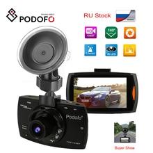 Podofo A2 автомобильный видеорегистратор камера G30 Full HD 1080P 140 градусов Dashcam видео регистраторы для автомобилей ночного видения g-сенсор видеорегистратор