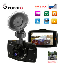 2019 Podofo A2 Auto Dvr Camera G30 Full Hd 1080P 140 Graden Dashcam Video Registrars Voor Auto Nachtzicht g-Sensor Dash Cam(China)