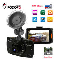 2019 Podofo A2 Auto DVR Kamera G30 Volle HD 1080P 140 Grad Dashcam Video Registrars für Autos Nachtsicht g-Sensor Dash Cam