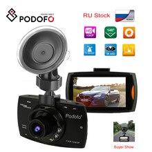 2019 Podofo A2 Car DVR Camera G30 Full HD 1080P 140 Degree Dashcam Video Registrars for