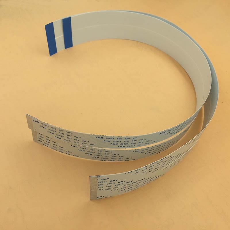 Imprimante à jet d'encre ep-son DX7 câble de tête FFC câble de données plat 35 broches avec fente de 40 cm de long pour wit-color 9100 9200 pièce de Taimes intelligente
