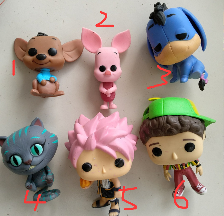 Funko POP Secondhand Alice Cheshire cat Bear POOH Vinyl Action Figure Collectible Model font b Toy