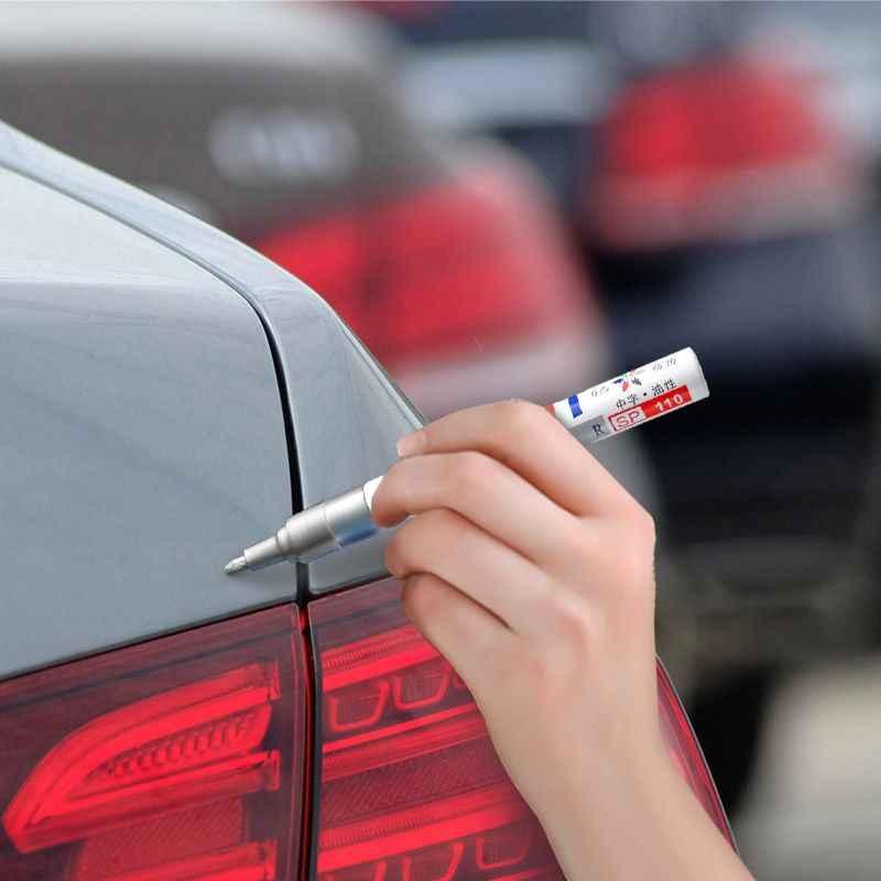 Auto Kras Reparatie Pen Waterdicht Wiel Band Vette Mark Pen Permanente Verf Marker Scratch Remover Voor Auto