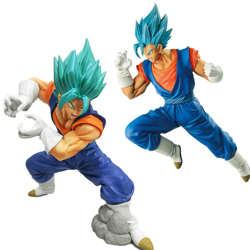 Brinquedo do anime dragon ball Dragon ball Z Vegito Deus Super Saiyajin Vegetto Batalha Figura Juguetes Kamehameha Final PVC figura brinquedos