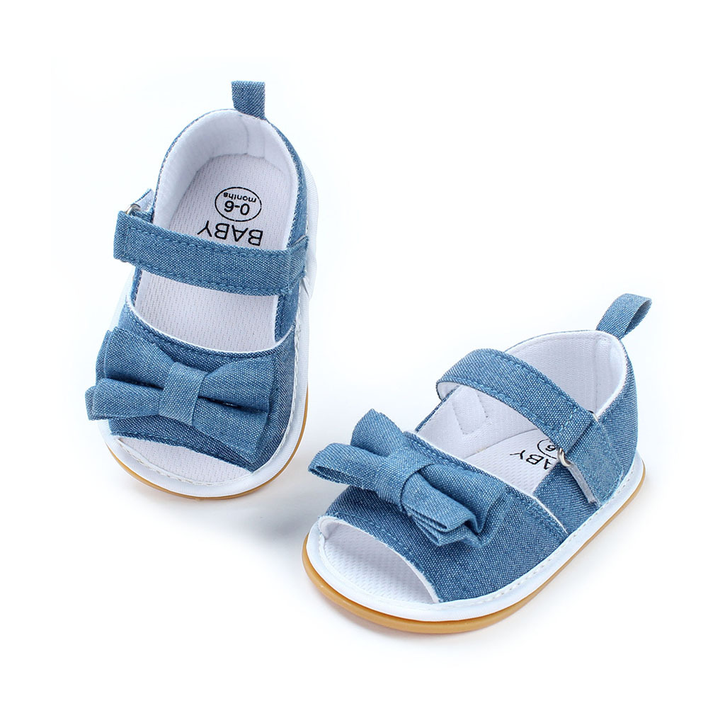Female Baby Shoes Newborn Baby Products Rubber Soft Bottom Baby Shoes Summer Princess Casual Shoes