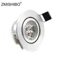 Zmishibo led 라운드 recessed led 통 110-240 v 3 w 5 w 55/70/90mm 컷 홀 스팟 램프 각도 거실/침대 룸에 대 한 조정 가능