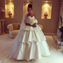 trust linda Strapless Wedding Dresses Floor Length Gowns