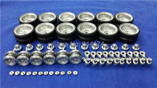 henglong 3839 3839-1 U.S.M41A3 1/16 RC tank upgrade parts metal wheels hub set henglong 3839 3839 1 1 16 us m41a3 rc tank upgrade parts metal track metal driving wheels full set free shipping