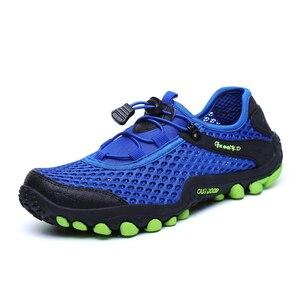 Image 4 - Nouveaux hommes en plein air chaussures de randonnée chaussures de montagne chaussure de Trekking