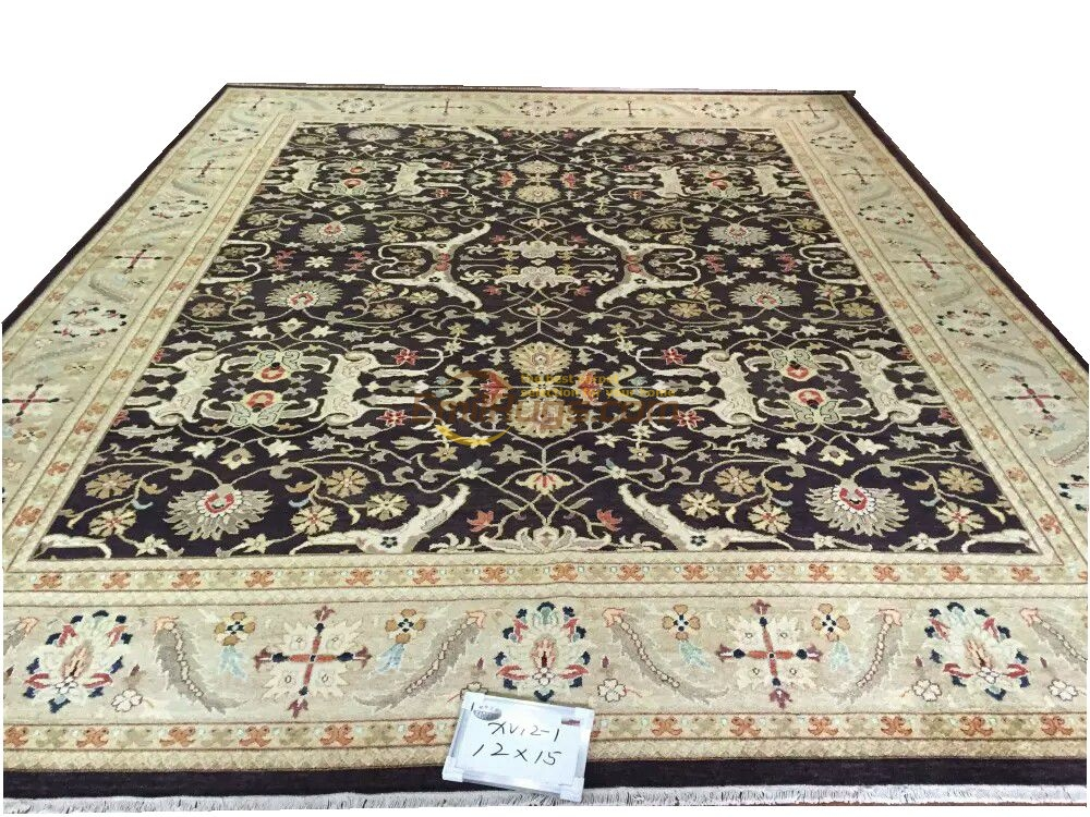 Turkish Rug Handmade Table Decor Floor For Bedroom Southwestern Style The Plant Design Wool Knitting Carpets