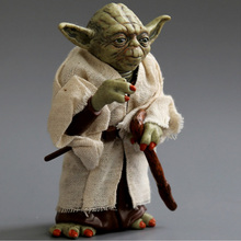 action figure toys The Force Awakens Jedi kasters Yoda Collection toys PVC action figure toys Christmas