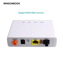 GPON ONU FTTO 1GE GPON 1 порт FTTH ONU ONT один LAN порт OLT 1,25G Gpon волокно для дома FTTB
