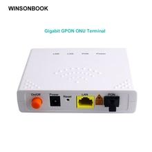 GPON ONU FTTO 1GE 1port FTTH ONT Single LAN Port OLT 1.25G Gpon  Fiber to home FTTB